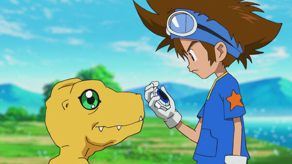 Digimon Adventure: - Ep. 4 - Birdramon Soars