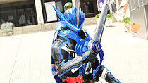 Kamen Rider - Episode 2 - The Water Swordsman With a Blue Lion