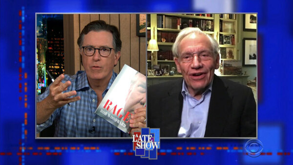 The Late Show with Stephen Colbert - S06E01 - Bob Woodward, Luke Combs