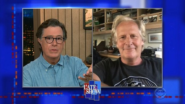 The Late Show with Stephen Colbert - S06E07 - Jeff Daniels, Yusuf / Cat Stevens