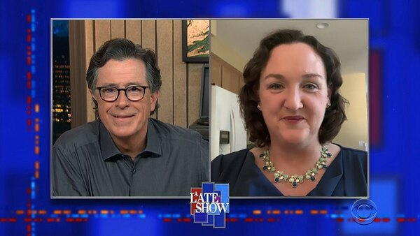The Late Show with Stephen Colbert - S06E08 - Rep. Katie Porter, Tony Romo
