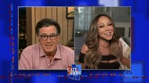 The Late Show with Stephen Colbert - Episode 9 - Mariah Carey, Rex Orange County
