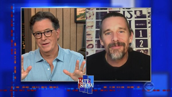 The Late Show with Stephen Colbert - S06E12 - Ethan Hawke, Andrew Weissmann