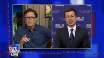 The Late Show with Stephen Colbert - Episode 16 - Pete Buttigieg, Future Islands