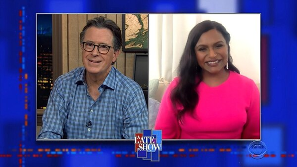 The Late Show with Stephen Colbert - S06E17 - Mindy Kaling, John Brennan