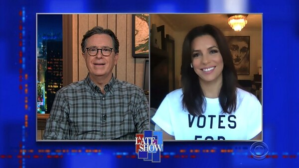 The Late Show with Stephen Colbert - S06E21 - Bruce Springsteen, Eva Longoria
