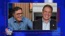 The Late Show with Stephen Colbert - Episode 22 - Andrew Cuomo, Matt Berninger