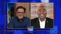 The Late Show with Stephen Colbert - Episode 26 - Jaime Harrison, Elvis Costello