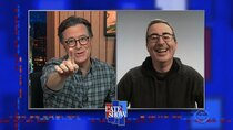 The Late Show with Stephen Colbert - Episode 29 - John Oliver, Cher, Jojo