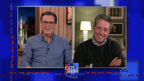 The Late Show with Stephen Colbert - S06E34 - Hugh Grant, Sturgill Simpson