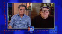 The Late Show with Stephen Colbert - Episode 36 - Michael Moore, Sara Bareilles, Steve Carell