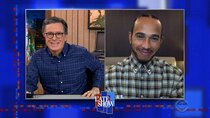 The Late Show with Stephen Colbert - Episode 38 - Lewis Hamilton, Andrea Bocelli