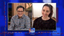 The Late Show with Stephen Colbert - Episode 47 - Christopher Krebs, Aubrey Plaza