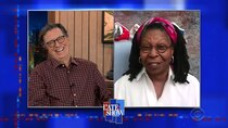The Late Show with Stephen Colbert - Episode 55 - Whoopi Goldberg, Anderson Cooper, Andy Cohen