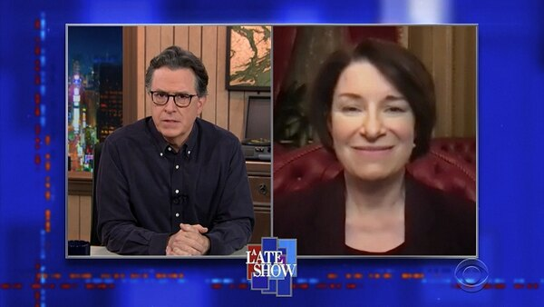 The Late Show with Stephen Colbert - S06E61 - Amy Klobuchar, Adam Kinzinger, Jamila Woods