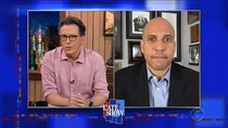 The Late Show with Stephen Colbert - Episode 69 - Cory Booker, Laura Benanti, Infinity Song