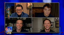 The Late Show with Stephen Colbert - Episode 71 - Jon Lovett, Jon Favreau, Tommy Vietor