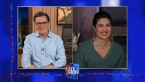 The Late Show with Stephen Colbert - Episode 72 - Priyanka Chopra Jonas, Derek DelGaudio, Frank Oz