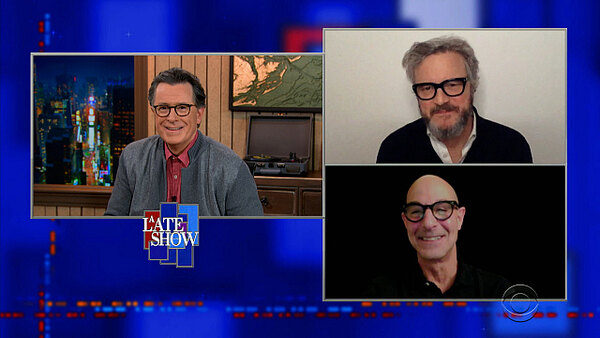 The Late Show with Stephen Colbert - S06E74 - Colin Firth, Stanley Tucci, Adrianne Lenker