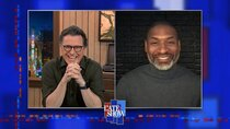 The Late Show with Stephen Colbert - Episode 76 - Viggo Mortensen, Charles Blow