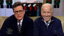 The Late Show with Stephen Colbert - Episode 77 - Joe Biden, Jill Biden, Kamala Harris