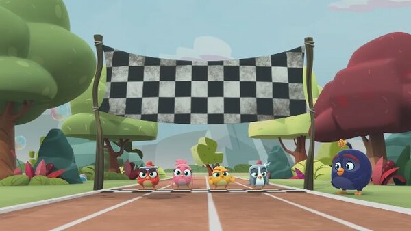 Angry Birds Bubble Trouble - S01E08 - Bird racers!