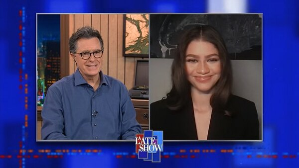 The Late Show with Stephen Colbert - S06E79 - Zendaya, James Martin