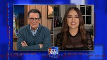 The Late Show with Stephen Colbert - Episode 80 - Salma Hayek, Mark Harris