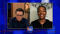 The Late Show with Stephen Colbert - Episode 81 - Tiffany Haddish, H.E.R.