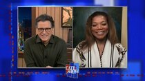 The Late Show with Stephen Colbert - Episode 83 - Queen Latifah, Steven Yeun