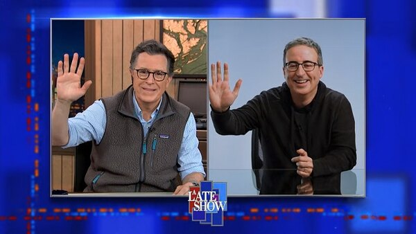 The Late Show with Stephen Colbert - S06E84 - John Oliver, Ingrid Andress