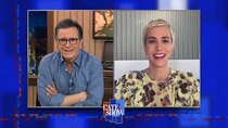 The Late Show with Stephen Colbert - Episode 85 - Kristen Wiig, Rebecca Breeds
