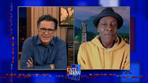The Late Show with Stephen Colbert - Episode 89 - Arsenio Hall, Tim Meadows, Celeste