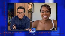 The Late Show with Stephen Colbert - Episode 90 - Regina King, Jamaal Bowman, Vic Mensa, Wyclef Jean, Peter Cottontale