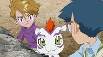 Digimon Adventure: - Episode 38 - The Blazing Blue Friendship