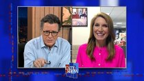 The Late Show with Stephen Colbert - Episode 95 - Nicolle Wallace, Michaela Coel, Kings of Leon