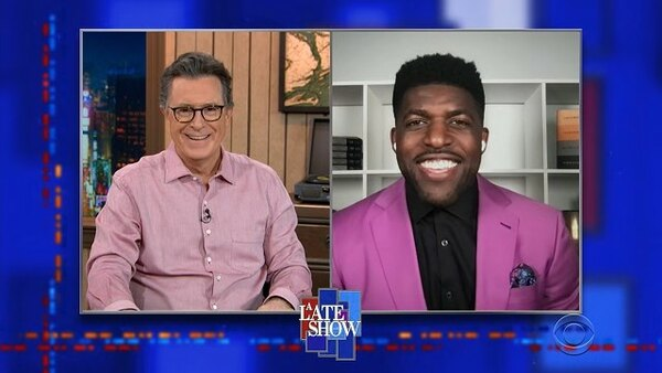 The Late Show with Stephen Colbert - S06E97 - Emmanuel Acho, Gina Yashere