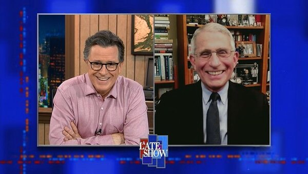 The Late Show with Stephen Colbert - S06E99 - Dr. Anthony Fauci