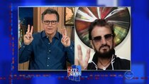 The Late Show with Stephen Colbert - Episode 100 - Ringo Starr, Laura Benanti