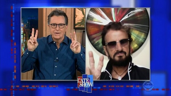 The Late Show with Stephen Colbert - S06E100 - Ringo Starr, Laura Benanti