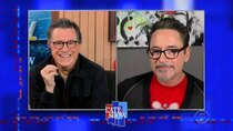 The Late Show with Stephen Colbert - Episode 104 - Robert Downey Jr., Walter Isaacson, Sebastian Yatra, Guaynaa