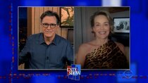 The Late Show with Stephen Colbert - Episode 106 - Sharon Stone, Ken Burns