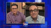 The Late Show with Stephen Colbert - Episode 110 - Hank Azaria, Jeff Goldblum, Cheap Trick