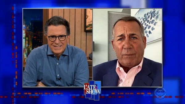 The Late Show with Stephen Colbert - S06E111 - John Boehner, Shelley