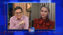 The Late Show with Stephen Colbert - Episode 113 - Willie Geist, Maria Bakalova