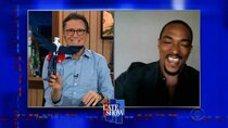 The Late Show with Stephen Colbert - Episode 119 - Anthony Mackie, Terry Gross