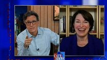The Late Show with Stephen Colbert - Episode 120 - Sen. Amy Klobuchar, Kyle MacLachlan