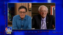 The Late Show with Stephen Colbert - Episode 121 - Sen. Bernie Sanders, Julia Michaels