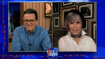 The Late Show with Stephen Colbert - Episode 123 - Jane Fonda, John Oliver, Ringo Starr, Teddy Swims