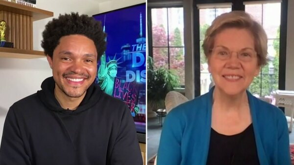 The Daily Show - S26E90 - Elizabeth Warren